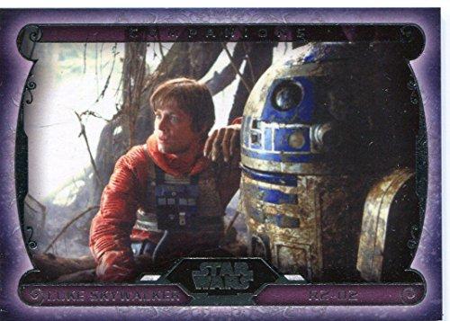 Masterwork Companions inseguimento di Star Wars, R2-D2-C-8 & Luke Skywalker