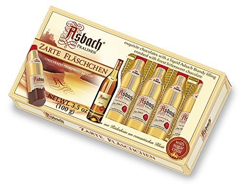 Asbach Liqueur Bottles 8 Pieces (with Sugar Crust) 100 g