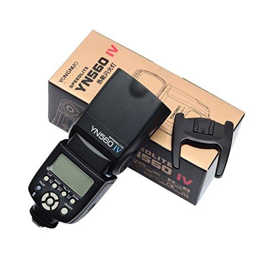YONGNUO 4pcs YN-560 IV Kit Flash Speedlite With 560TX-N for D750 D700 D610 D600 D810 D800 D5300 D5200 D5100 D5000 D90 D80 D3300 D3200 D3100 D3000 D7100 D7000 With EACHSHOT® Diffuser