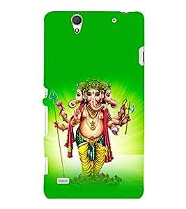 printtech Lord God Ganesha Back Case Cover for Sony Xperia C4 Dual E5333 E5343 E5363::Sony Xperia C4 E5303 E5306 E5353