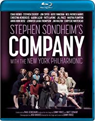 Stephen Sondheim's Company with the New York Philharmonic [Blu-ray]