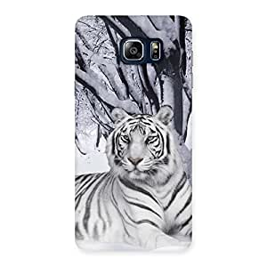 Premium Snow Tiger Back Case Cover for Galaxy Note 5