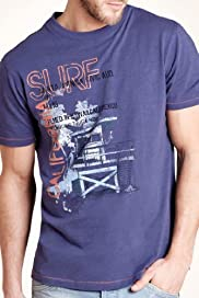 North Coast Pure Cotton Surf California T-Shirt [T28-3390N-S]