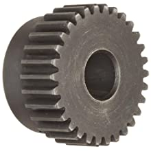 Martin Spur Gear, 14.5 Pressure Angle, High Carbon Steel, Inch, 5 Pitch