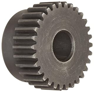 Martin TS1040 Spur Gear, 20° Pressure Angle, High Carbon Steel, Inch, 10 Pitch, 1