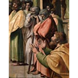 Paul Preaching at Athens, detail, by Raphael (Print On Demand)