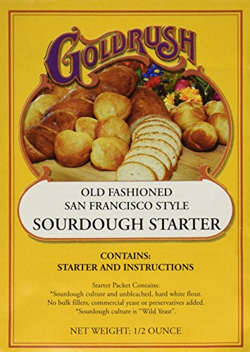 Gold Rush Old Fashioned San Francisco Style Sourdough Bread Starter, 0.5 Ounce Packets (Sourdough Starter Culture compare prices)