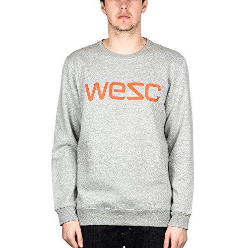 Felpa da uomo modello-shirt WeSC, GRIGIO Melange, XXL, F401729910