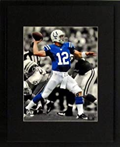Indianapolis Colts Andrew Luck Spotlight 8x10 Photograph (SGA UnderFifty Series)... by Sports Gallery Authenticated