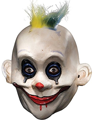 Batman The Dark Knight Joker Henchman Grumpy Clown Costume Mask
