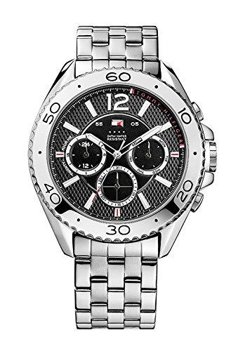 Tommy Hilfiger Watches Herren-Armbanduhr XL GRANT Analog Quarz Edelstahl 1791047 thumbnail