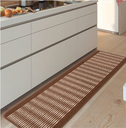 kitchen floor rug washable floor runner stripe pattern floor runner