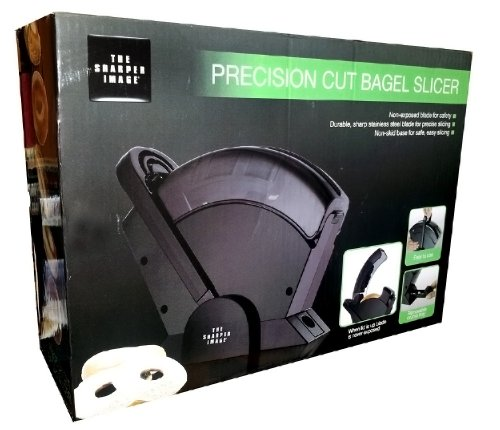 Find Cheap The Sharper Image Precision Cut Bagel Slicer