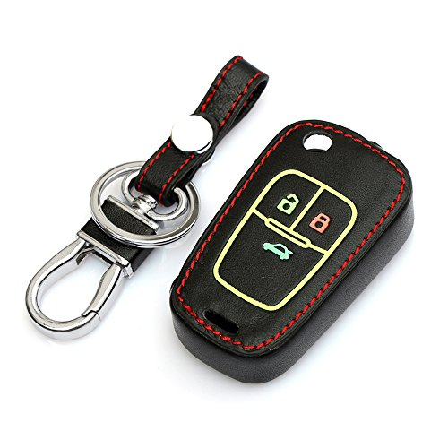 9-moon-car-remote-key-holder-case-cover-fit-chevrolet-cruze-aveo-high-quality-leather