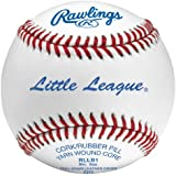 Rawlings RLLB-1 Little League Baseball - Pack of 12