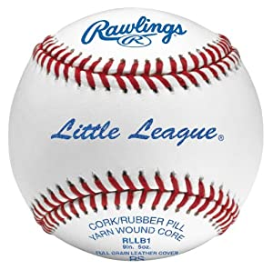 Rawlings RLLB1 Little League Competition Grade Baseballs (One Dozen)