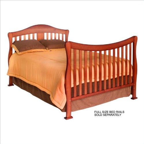 DaVinci Parker 4 in 1 Crib with Toddler Rail Cherry