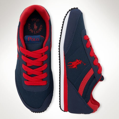 Polo Ralph Lauren Boys Dart Low Top Blue Blau (Navy) Size: 31