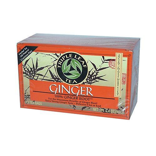 Triple Leaf Tea Ginger Tea Bags