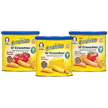 Gerber Graduates Little Crunchies Whole Grain Corn...