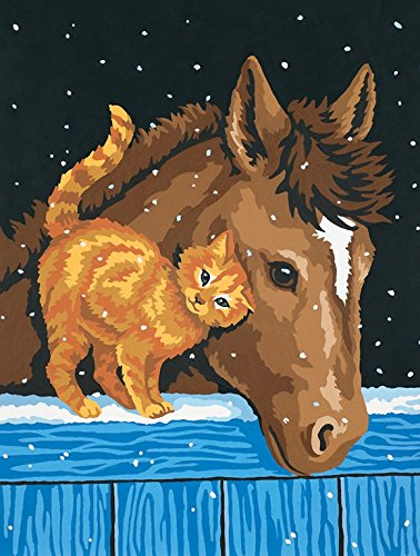 Dimensions Paint By Number, Pony And Kitten