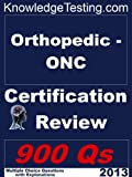 img - for Orthopedic - ONC Certification Review (Certification in Orthopedic Nursing) book / textbook / text book
