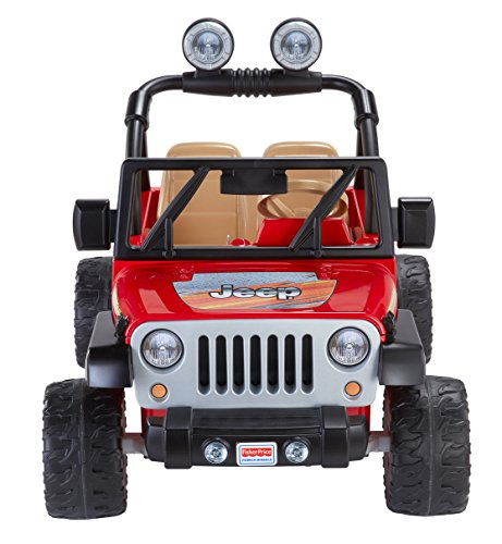 kids electric car fisher price wheels jeep wrangler