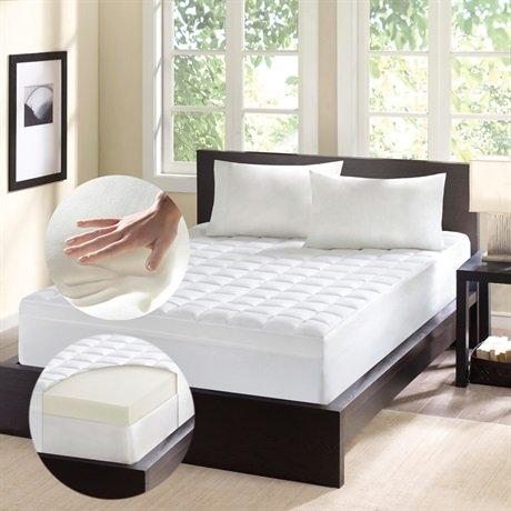 Comfort Classics Memory Foam & Fiber 4.5 Topper подушки homedics ортопедическая подушка memory foam luxury box