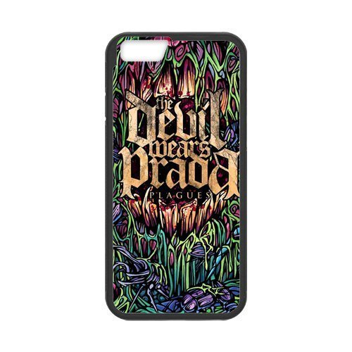 iPhone 6 plus 5.5 Case Cool Devil Wear Prada Band Pattern iPhone 6 plus 5.5 (Laser Technology) (Devil Wears Prada Phone Case compare prices)