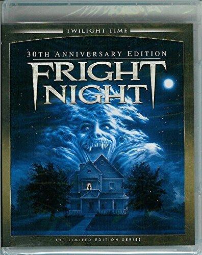 die rabenschwarze nacht fright night blu ray dvd cover 1985 r2 german. Black Bedroom Furniture Sets. Home Design Ideas