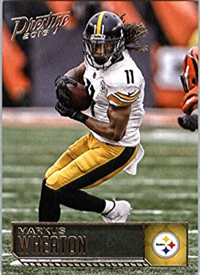 2016 Panini Prestige #157 Markus Wheaton Pittsburgh Steelers Football Card in Protective Screwdown Display Case