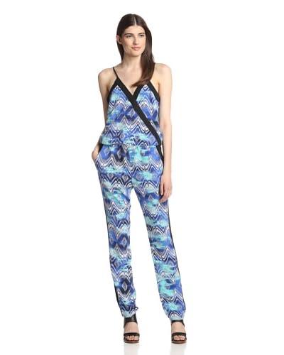 Ali Ro Women's Printed Wrap Jumpsuit