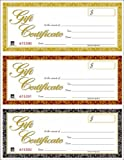 Adams Laser Gift Certificates, 8.5 x 11 Inches, White, 3 per Page, 30-Pack (GFTLZ)