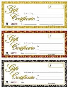 adams gift certificate templates