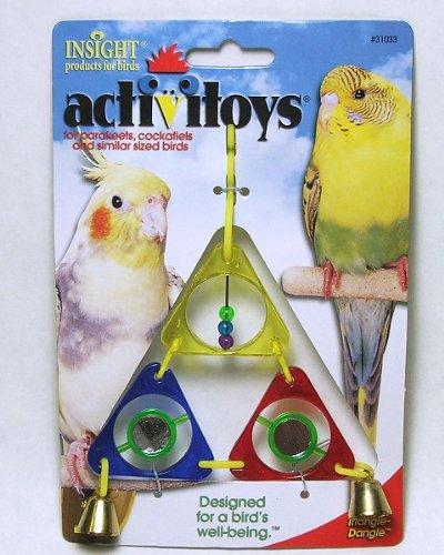 Image of JW Pet Insight Triangle-Dangle Bird Toy (B001LK3G4U)