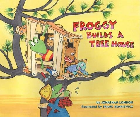 Froggy Builds a Tree House[FROGGY BUILDS A TREE HOUSE][Hardcover] (Froggy Builds A Tree House compare prices)