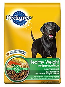 PEDIGREE Healthy Weight Targeted Nutrition Chicken Flavor Dry Dog Food, 15 lb. Bag (Pack of 1)
