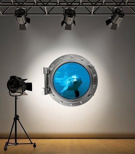 couleur-complete-dolphin-hublot-autocollant-mural-decoration-chambre-denfant-decoration-ocean-mer-sm