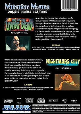 Midnight Movies Vol 9: Zombie Double Feature (Hell of the Living Dead/Nightmare City)