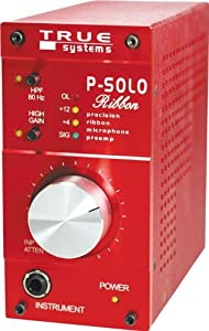 True Systems P-Solo Ribbon Mic Preamp