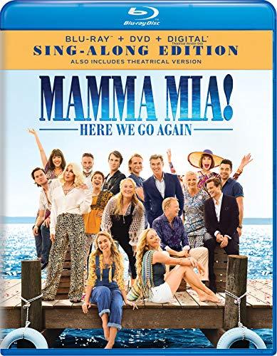 Blu-ray : Mamma Mia!: Here We Go Again (With DVD, 2 Pack, Digital Copy)
