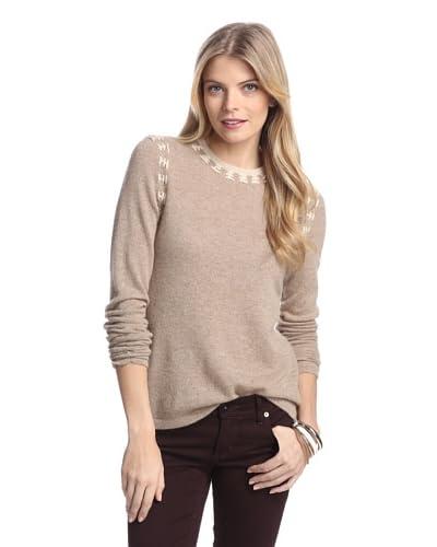 Cullen Women's Whipstitch Cashmere Sweater