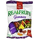 Real Fruit Gummies Fruit Snacks, Tropical Fruits, 6.4-Ounce Bags (Pack of 12)