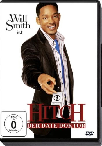 "Will Smith In Hitch Der Date Doktor German Dvd ""Zone Free Dvd"""