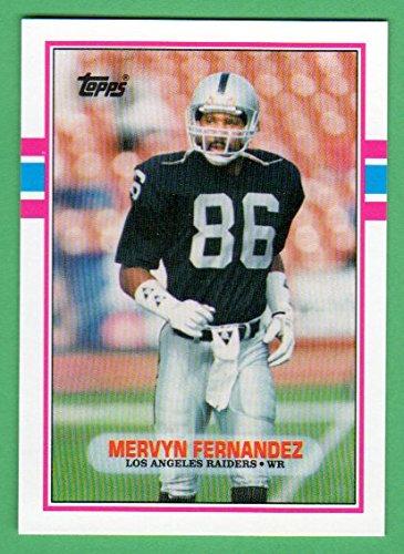 mervyn-fernandez-1989-topps-traded-rookie-card-raiders