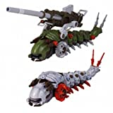 Molga & Molga with Canory Unit EMZ-15 Zoids Kotobukiya 1/72 Scale HMM Kit
