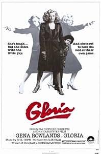 Gloria Poster Movie 11x17 Gena Rowlands John Adams Buck Henry Julie Carmen