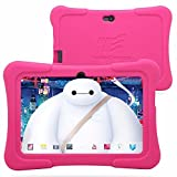 Dragon-Touch-7-Quad-Core-Android-Kids-Tablet-with-Wifi-and-Camera-and-Games-HD-Kids-Edition-w-Zoodles-Pre-Installed-2015-New-Model-Y88X-with-Silicone-Case