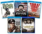 The Ultimate War Blu-ray Bundle (The Great Escape, Patton, Tora Tora Tora, Twelve O'Clock High, The Longest Day)