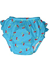 iPlay Ultimate Ruffle Swim Diaper Americana Girl's Swim Diaper